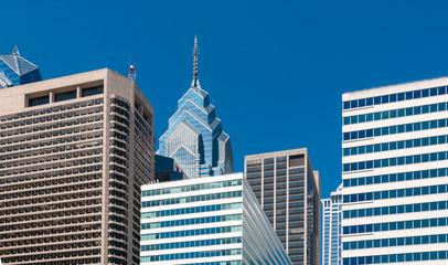Modern buildings, part of the Phildelphia skyline