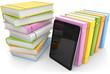 Bücher und ein ebook