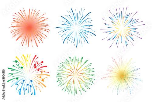 Zdjęcia na płótnie, fototapety, obrazy : Fireworks display