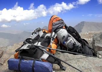 Pico Mulhacén desde el pico Veleta.Granada