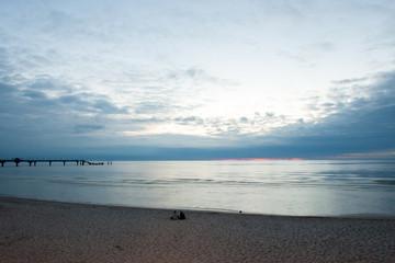 Miedzyzdroje in Poland - Baltic Sea and beach