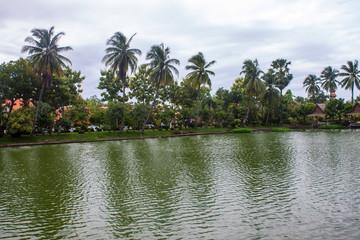 Pond in Sukhothai Historical Park, Thailand