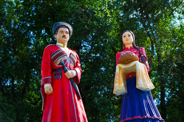 cossacks: man and woman