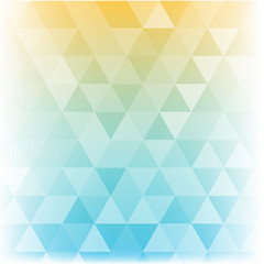 geometric polygon abstract background of sunshine pastel