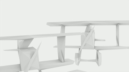 3D ANIMATED PLANE PAPER