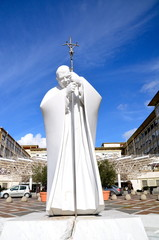 Statue of Pope Saint John Paul II