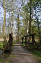 Brücke am Spreewaldfließ