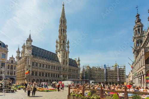 Fototapeta Grand Place in Brussels, Belgium