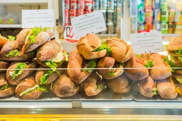 Freshly baked gourmet breads for sale France, Paris