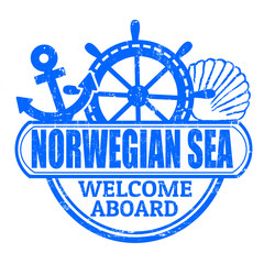 Norwegian Sea stamp