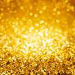 canvas print picture - Glimmer gold