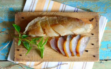 Cold smoked fish Balyk