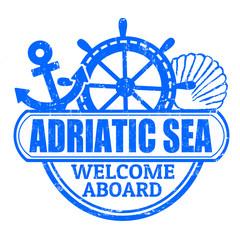 Adriatic Sea stamp
