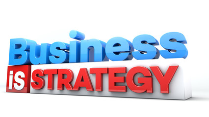 3D words Business is