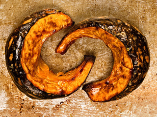 rustic roasted pumpkins