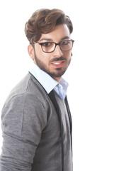 Closeup Of Young Man