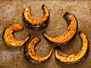 rustic roasted pumpkins