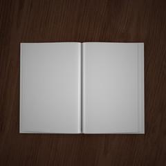Inside book mock up