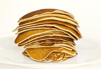 Deliciosos pancakes apilados
