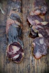 natural dried sausage