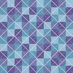 violet and blue textured seamless geometric background
