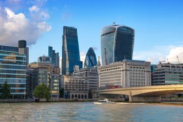 London, bridge over the river Thames