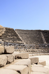 kleines Theater in Pompeji