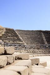 kleines Theater in Pompeji