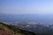 canvas print picture - Blick vom Vesuv auf die Stadt und die Bucht Neapel