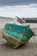 Shipwreck on a beach in Paimpol - 68913517