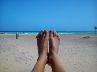 Relax después del windsurf