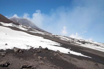 Volcano Etna.