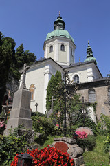 Salzbourg (Autriche) cimetière Saint-Sébastien