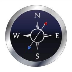 Kompass - Blau