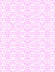 A purple background pattern against white
