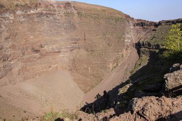 Vesuv - Blick über den Kraterrand