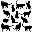 Cats Silhouettes - 68917388