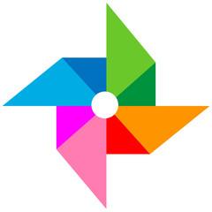 vane paper full color vector