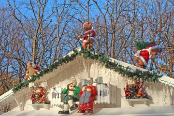 Paris marché de Noël