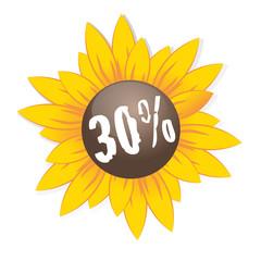 30 % Sonnenblume