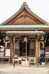 Traditional Japanese style temple