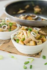 Miso Mushroom Tofu