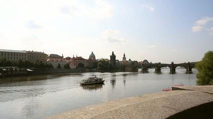 Prague boat