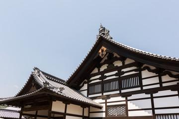 Japanese style roof of Kinkakuji