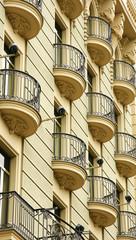 Fachada de un edificio en Barcelona
