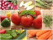 collage légumes