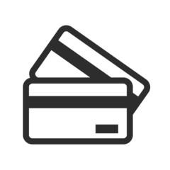 Vector Credit Card Black Icon