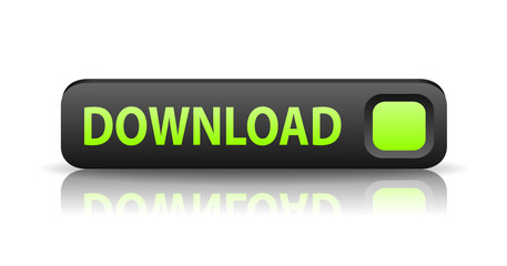vector 3D gray web button download