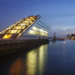 Hamburg Dockland at Night