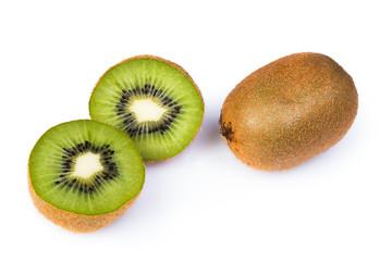 Kiwifruit, sliced and whole